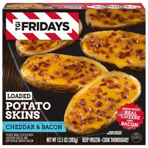 TGI Fridays Loaded Cheddar & Bacon Potato Skins