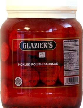 Glazier Pickled Polish Sausage