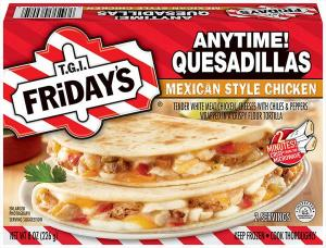 T.g.i. Friday's Mexican Style Chicken Quesadillas