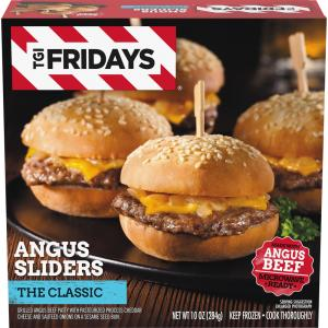 TGI Fridays All American Angus Sliders