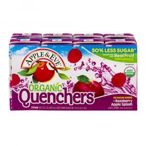 Apple & Eve Organic Quenchers Razzberry Apple Splash