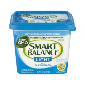 Smart Balance Light Buttery Spread W/flax Oil