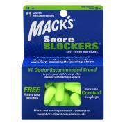 Mack's Snore Blocker Soft Foam Earplugs w/Free TravelCase