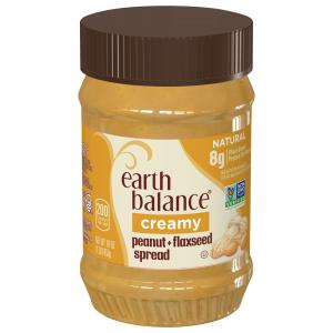 Earth Balance Natural Peanut Butter And Flaxseed