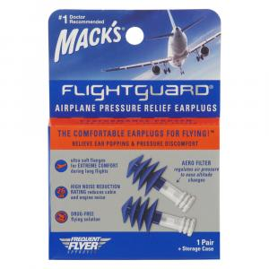 Mack's Flight Guard 1 Pair Earplugs