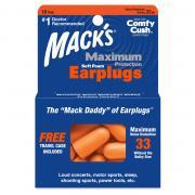 Mack's Maximum Protection Foam Earplugs