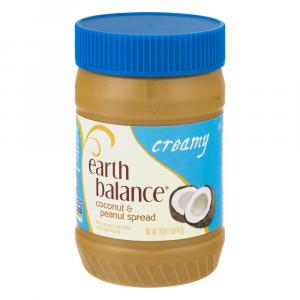 Earth Balance Creamy Coconut And Peanut Butter