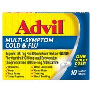 Advil Multi-Sympton Cold and Flu Tablets