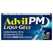 Advil PM Liquid Gels