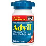 Advil Tablets EZ Open Cap 200 mg Tablets