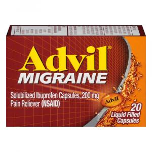 Advil Migraine Liquid Filled Capsules