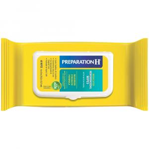 Preparation H Medicated Wipes Tub