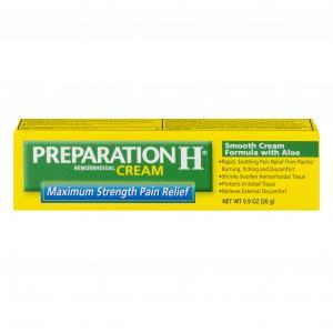 Preparation H Maximum Strength Pain Relieving Cream