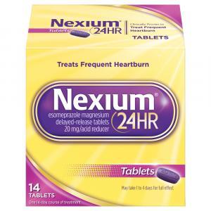 Nexium 24 Hour Tablets