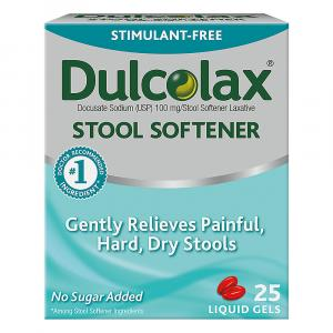 Dulcolax Stool Softener Liquid Gels