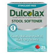 Dulcolax Stool Softener Liquid Gels