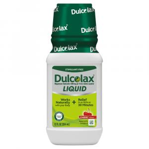 Dulcolax Liquid Laxative Cherry Flavor