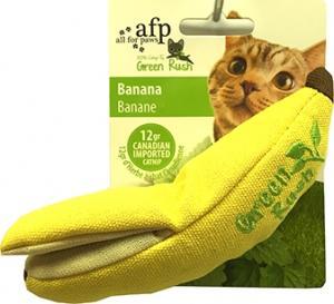 AFP Green Banana Cat Toy