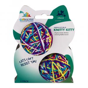 Ready to Play Cat Rattle Multi Colored