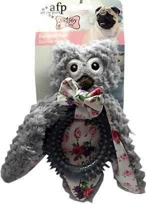 All for Paws Shabby Chic Ballerina Owl Toy