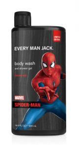 Every Man Jack Spiderman Body Wash
