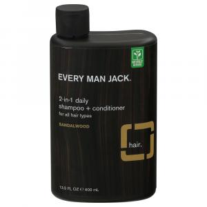 Every Man Jack 2-in-1 Sandalwood Daily Shampoo + Conditioner