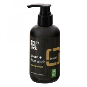 Every Man Jack Beard + Face Wash Sandalwood