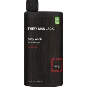 Every Man Jack Cedarwood Body Wash and Shower Gel