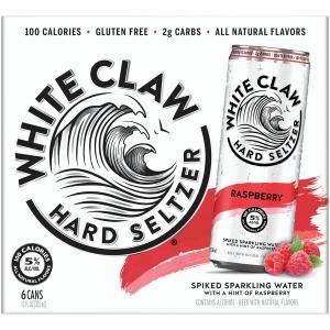 White Claw Raspberry Spiked Sparkling Water