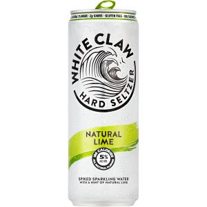 White Claw Lime Spiked Sparkling Water