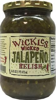Wickles Wicked Jalapeno Relish