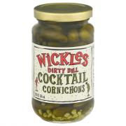 Wickles Dirty Dill Cocktail Cornichons