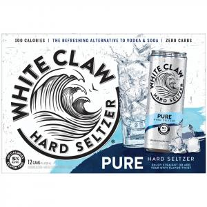 White Claw Pure Hard Seltzer