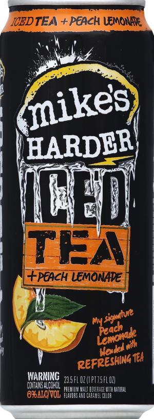 Mike's Harder Iced Tea & Peach Lemonade