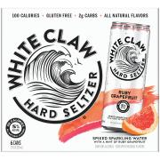 White Claw Ruby Grapefruit Spiked Sparkling Water