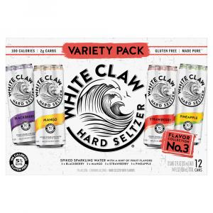 White Claw Hard Seltzer Variety Pack No. 3
