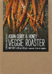 Urban Accents Asian Curry & Honey Veggie Roaster
