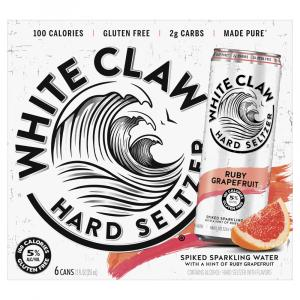 White Claw Hard Seltzer Ruby Grapefruit