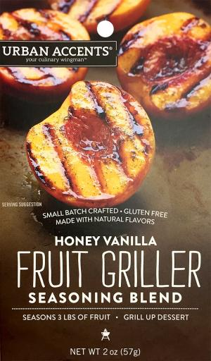 Urban Accents Honey Vanilla Fruit Grillers
