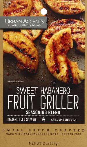 Urban Accents Sweet Habanero Fruit Grillers
