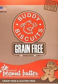 Buddy Biscuit Grain Free Peanut Butter Dog Treats