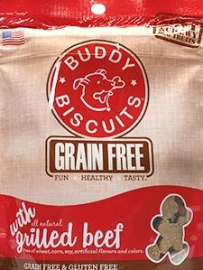 Buddy Biscuits Soft Beef Chews Dog Treats