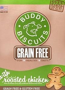 Buddy Biscuit Grain Free Roasted Chicken Dog Treats