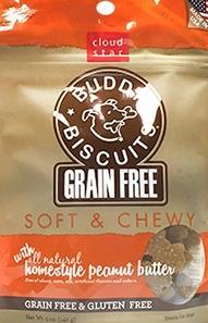 Buddy Biscuits Soft Peanut Butter Chews Dog Treats