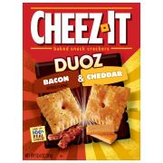 Sunshine Cheez-It Duoz Bacon Cheddar Cheese Crackers