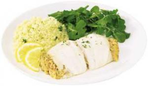 Haddock with Seafood Stuffing