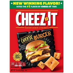 Cheez-it Cheese Burger