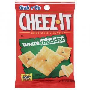 Cheez-It White Cheddar Crackers Grab n Go