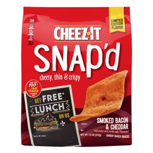 Cheez-It Snap'd Smoked Bacon Cheddar