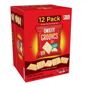 Cheez-it Sharp White Cheddar Grooves Crackers